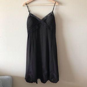 Antonio Melani chiffon lace spaghetti strap dress